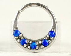Septo anillo nariz anillo tabique joyas cuerpo por RebelOcean