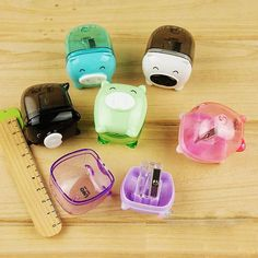 The Kawaii Notebook - Pig Pencil Sharpener.