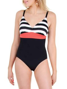 One-piece swimsuit sewing pattern from Jalie