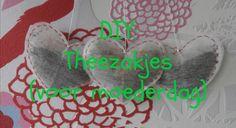 LifeBeautyStyle: DIY Moederdag: Theezakjes