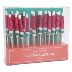 Cocktail Umbrellas - Watermelon