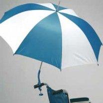 Parapluie pour fauteuil roulant
