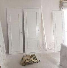pintar puertas y radiadores de blanco