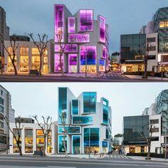 Chungha Building by MVRDV - Seoul, South Korea