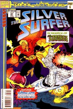 Silver Surfer Vol. 3 # 87 by Ron Lim & Keith Aiken