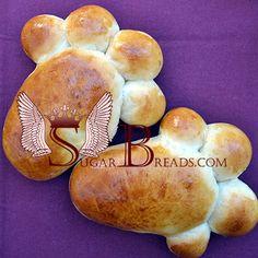 Ψωμάκια γλυκά με μυζήθρα   Sugar & Breads in Greece