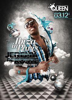 DJ JEREMY DE KOSTE TOUR FLYER
