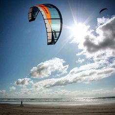 Have you had a chance to try kite landboarding ?