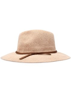 Sombrero casual cuero con cinta-(Sheinside)