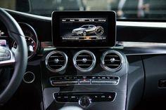 2015 Mercedes-Benz C-Class interior.