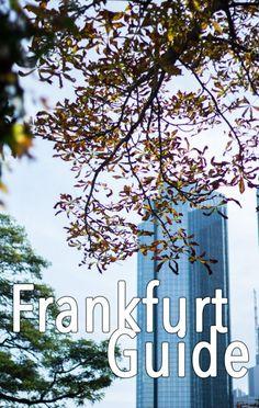 Ein kleiner Guide für Frankfurt  http://travelandlipsticks.de/index.php/de/26-heimat/240-frankfurt  #frankfurt