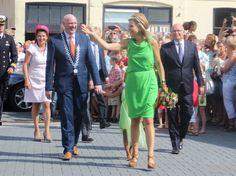 MyRoyals:  Queen Maxima opened a nursing center in Nieuwolda, July 7, 2015