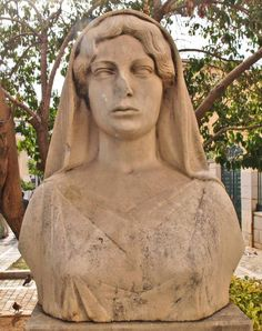 Aspasia (Marble Bust) — at National and Kapodistrian University of Athens.