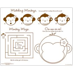 placemats for kiddos