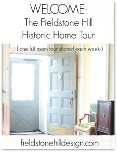 Fieldstone Hill #Historic #Hometour of an 1820's historic, renovated stone farmhouse by designer @fieldstonehill . Room by room, week by week. #historichometour #hometour
