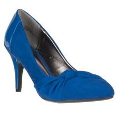 @Overstock - These 'Vinnie' stilettos by Riverberry feature a blue, micro suede construction. They are complete with a knot-detail.http://www.overstock.com/Clothing-Shoes/Riverberry-Womens-Vinnie-Microsuede-Knot-detail-Heel/6803573/product.html?CID=214117 $36.99