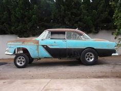 moparts: 1955 Plymouth Gasser project