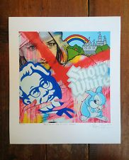 Ben Frost - Bring Me The Head of Colonel Sanders - Signed - Banksy, Faile about 50.00 - little known artist/ designer