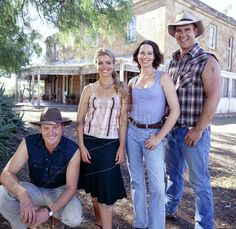 McLeod's Daughters    Myles Pollard, Bridie Carter, Lisa Chappell, Aaron Jeffery