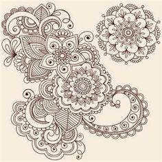 Mandala Mehndi tattoo design...possible start to my shoulder sleeve?