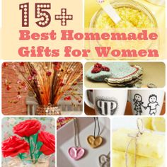 Round-up of Unique Homemade Gifts for Women & Girls