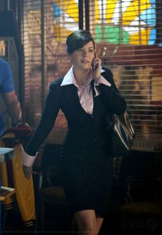 Erica Durance (Lois Lane) in 'Smallville' (Homecoming Episode)