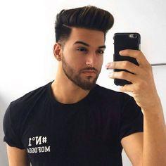 65 ideas haircut masculino longo for 2019 Mens Hairstyles With Beard, Cool Hairstyles For Men, Hairstyles Haircuts, Haircuts For Men, Volume Hairstyles, Beard Styles For Men, Hair And Beard Styles, Hair Style For Men, Medium Hair Styles