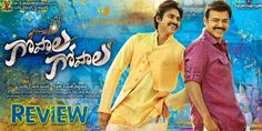 Gopala Gopala Movie Review exclusively on Zustcinema. Much awaited multi-starrer combo, Venkatesh and Pawan Kalyan playing the lead roles in Gopala Gopala released today worldwide.  Story :-   Gopal Rao (Venkatesh) is a devotional items shop owner who sells god idols and items with good profit by cashing on the weakness of