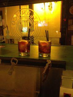 Negroni   Ginebra, Campari y  Red Martini