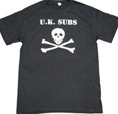 UK Subs ''Punk as Fuck'' T-Shirt $14.90 #punk #rock #music #clothing #shirts www.drstrange.com