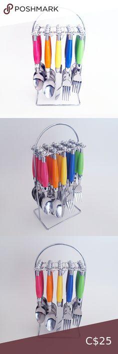 Cutlery Set, Silver Color, Design Inspiration, Colours, Check, Red, Closet, Life, Shopping