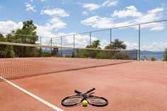 Check out our tennis court located within Wyndham Loutraki Poseidon Resort, ideal for releasing all your energy and keeping fit!