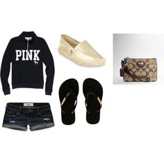 Summer Night Outfit, created by nichole-fickes on Polyvore