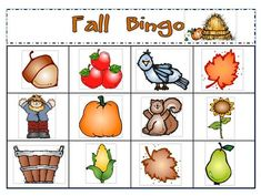 Fall art and activity ideas, including poems and a FREE fall themed bingo download!