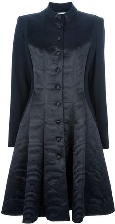 Temperley London Black Noa Coat