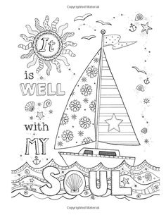 Color the Hymns: A Coloring Book for Adults Bible Verse Coloring Page, Love Coloring Pages, Printable Coloring Pages, Adult Coloring Pages, Coloring Books, Scripture Art, Bible Art, Coloring Pages Inspirational, Color Quotes