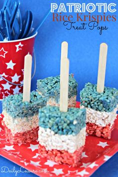 rice krispie treats.