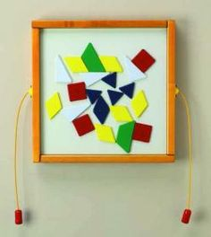 Mix up shape wall game