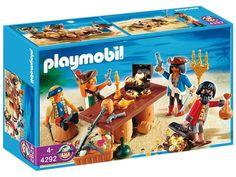 Playmobil - 4292 - Playmobil - Bande De Pirates Avec Butin: Amazon.fr: Jeux et Jouets
