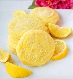Lemon Desserts, Köstliche Desserts, Strawberry Desserts, Lemon Recipes, Delicious Desserts, Dessert Recipes, Honey Recipes, Healthy Recipes, Best Sugar Cookie Recipe