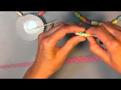 How To Make Jewelry With Paper Beads - MommyMaleta