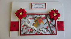 Handmade Christmas Cards - Robin's Christmas From Creating Special Moments That Last For A Lifetime. If you are looking for something more traditional and warm, 'Robin's Christmas. Order Now