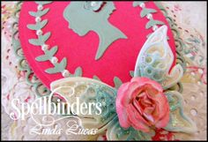 Spellbinders, @Lovely Linda Nestabilities, Inspire, DIY, Handmade, Craft, Silhouette, Tuesday Video Tutorial