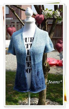 Cardigan aus *Jeans*\\n\\n24.04.2015 18:17