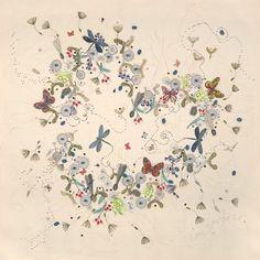 Love is everywhere print by Lou Gardiner