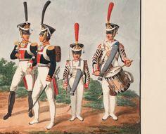 Costume du Regiment de Grenadiers de Moscou Drummer and Fifer