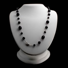 "Honora Sterling Silver Cultured Pearl Jet Black 36"" Necklace Gift For Mom 556O #Honora #Link #qvc"