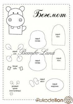 Moldes gratis para hacer titeres de dedos con fieltro - Ideas de Manualidades