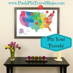 237 best our products push pin travel maps images on pinterest in