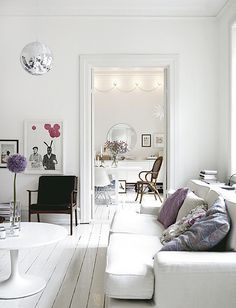 white with a bit of lilac | featured on my blog the style fi… | Flickr